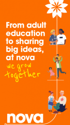 Growing together poster Nova New Opportunities