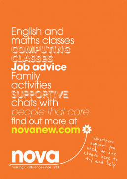 English and maths classes Nova Poster