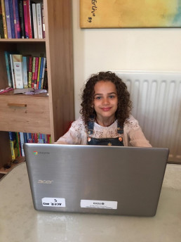 Learning Online Nova Children
