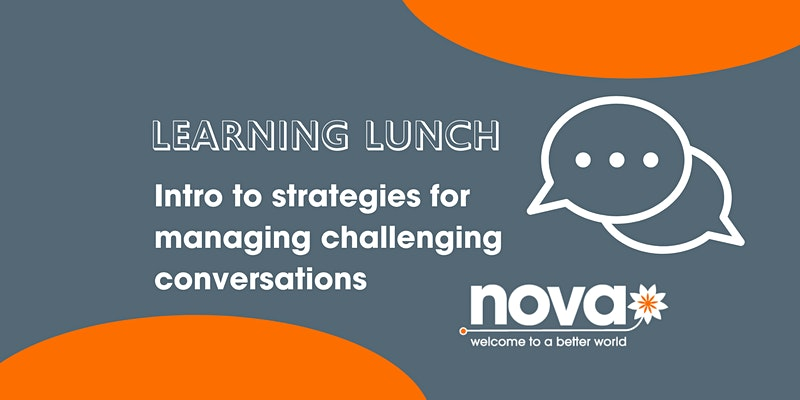 Shirley Wakelin learning lunch strategies for managing challenging conversations